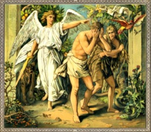 adam-and-eve-cast-out-of-paradise-after-eating-from-the-tree-of-knowledge-in-the-garden-of-eden